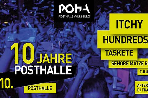 10 Jahre Posthalle Festival